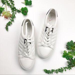 Calvin Klein Vance Leather White Sneakers